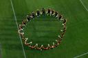 Met een foto op sociale media nemen de spelers van Oranje gezamenlijk stelling.