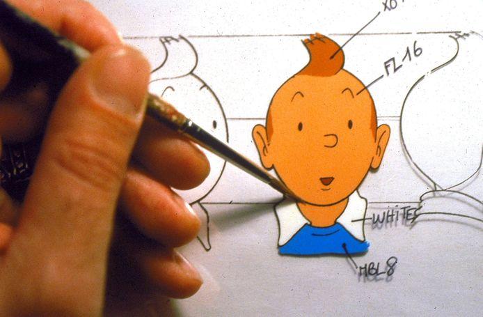 Een eerste editie van het stripboek Kuifje in het land van de Sovjets heeft op een onlineveiling 50.000 euro opgebracht
