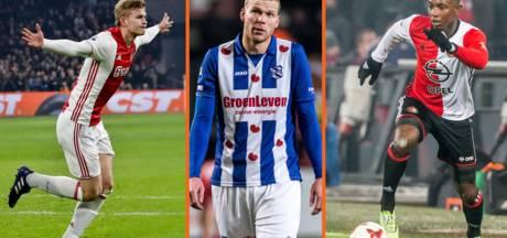Feyenoord superieur in laatste kwartier, Veerman topscorer invallers