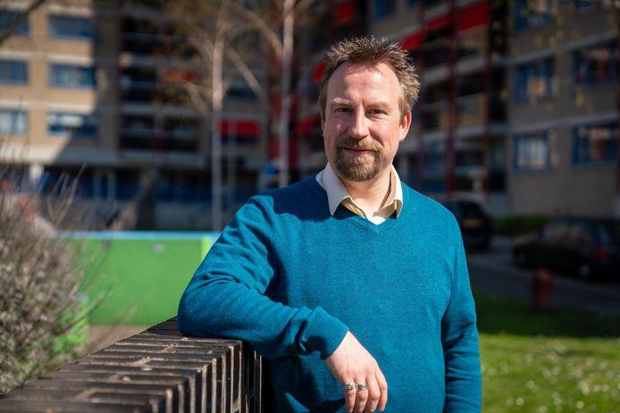 Jeroen Geuze, docent op het OBC in Elst.