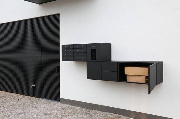 eSafe Wall voor meergezinswoningen en appartementsgebouwen.