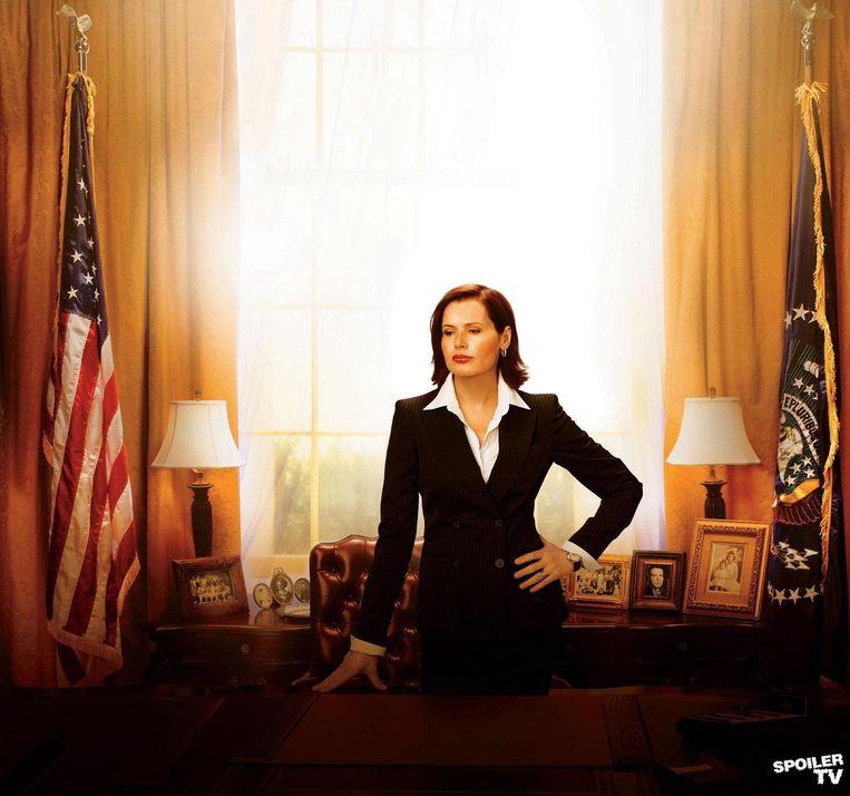 Geena Davis als president Mackenzie Allen in Commander in Chief. Beeld ABC