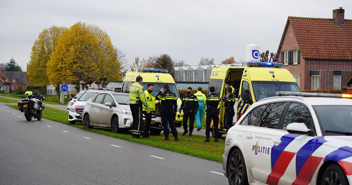 Automobilist overleden na ongeluk op Gilzeweg in Chaam.