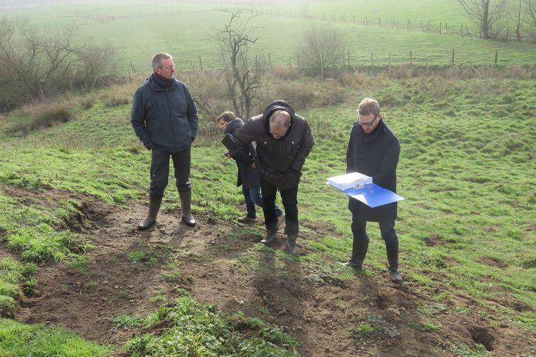 Tijdens een inspectie van Erfpunt eerder dit jaar werd vastgesteld dat de Singelberg is aangetast door erosie en konijnenholen.