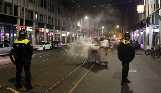 Rellen in de Schilderswijk.