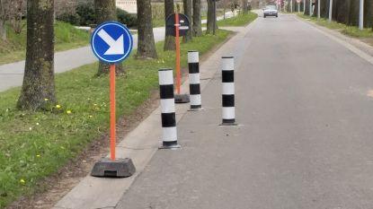 Wegversmallingen moeten snelheid  in Keistraat doen afnemen