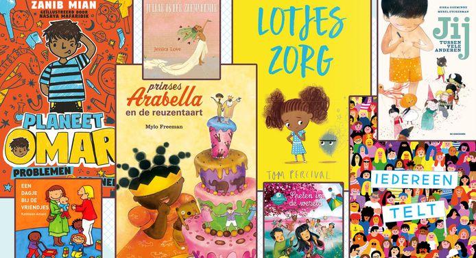 Twee kinderboekhandels en een kinderuitgeverij tippen de mooiste titels voor meer kleur in je boekenkast.