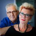 André Dirks en zijn vrouw Nellie. Foto uit juni 2015. Ruim een half jaar later overleed André.
