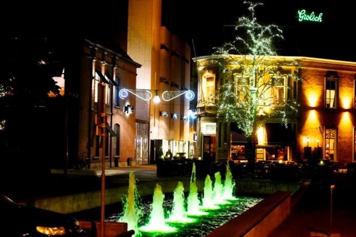 Kerstverlichting in de binnenstad