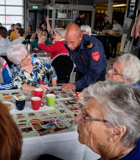 Het voorkomen van een brand met bingo in branweerkazerne Maassluis