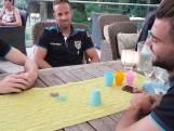Heracles-spelers vermaken zich met spelletjes in Billerbeck