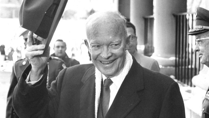 Dwight Eisenhower. ©ANP