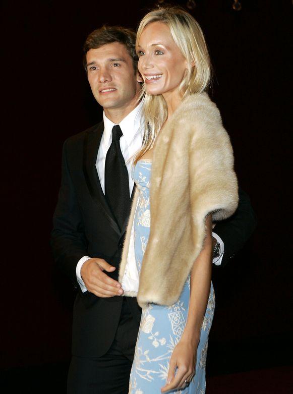 Shevchenko met zijn vrouw Kristin Pazik.