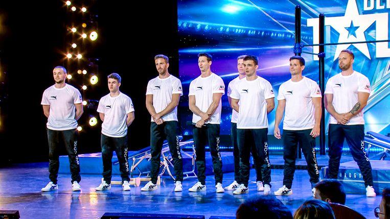 Bar-Code tijdens de vijfde auditie-aflevering van Belgium's Got Talent