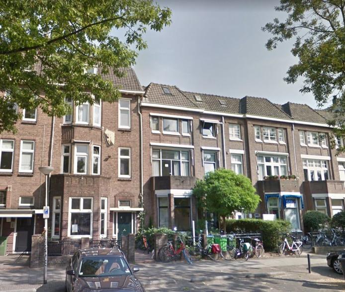 Het dispuutshuis van THOR aan de Bijleveldsingeld in Nijmegen