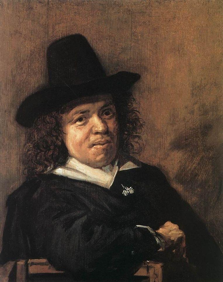 Frans Post Beeld schilderij van Frans Hals