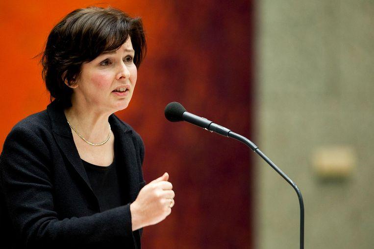 Tineke Huizinga als staatssecretaris in 2009. Beeld anp
