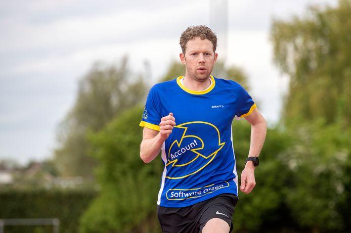 Vincent Böhm komt dit seizoen met de triatleten van VZC niet in actie in de eredivisie.