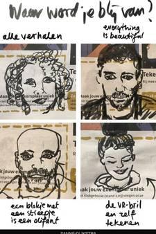 'Drawing the Times': elke dag een tekening over DDW