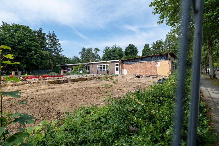 Een deel van basisschoolPius X in Mechelen werd afgebroken