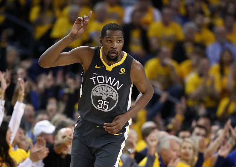 Kevin Durant was goed voor 32 punten.