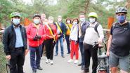 Centraal-Aziatische diplomaten onder de indruk van 'Fietsen door de Bomen'