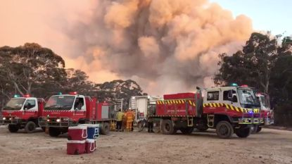Toxische wolk van bosbranden hangt nu ook boven Australische hoofdstad Canberra