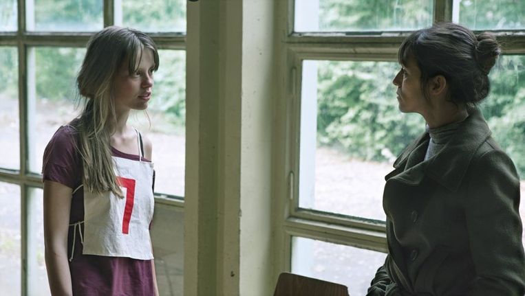 Charlotte Gainsbourg (rechts) in Nymphomaniac 2.