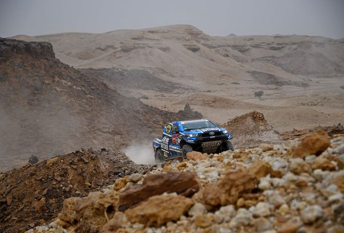 Voor Erik van Loon zit de 43ste Dakar Rally erop.
