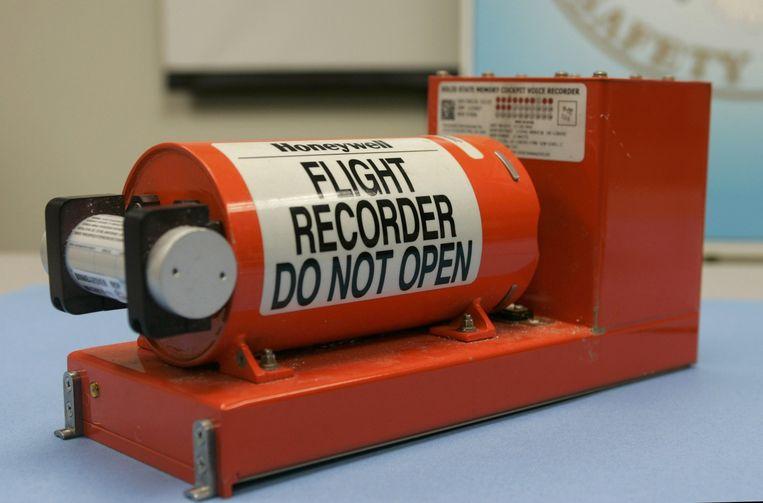 Archieffoto van een cockpit-voicerecorder. Beeld null