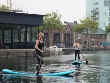 Suppenderwijs de Piushaven over: 'Surfen, maar dan zonder golven'