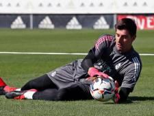 Thibaut Courtois déjà au travail à Madrid