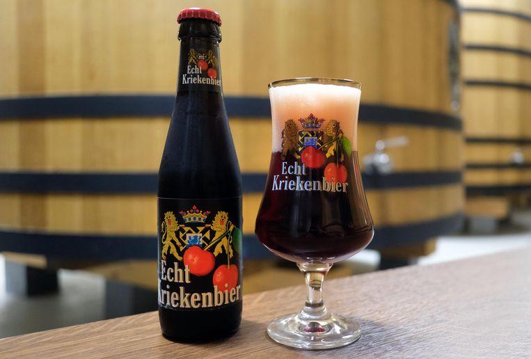Vichte Kriekenbier uit Zuid-West-Vlaanderen van Brouwerij Verhaeghe.