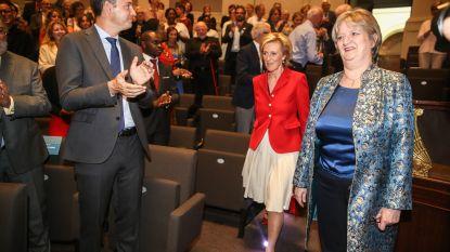 UGent en prinses Astrid vieren Marleen Temmerman