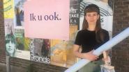 """Roze 'Ik u ook'-affiches veroveren Gent: """"Iedereen zit in hetzelfde schuitje"""""""