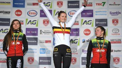 """Marthe Truyen snelt naar goud op BK in Antwerpen: """"Heel gelukkig met driekleur"""""""