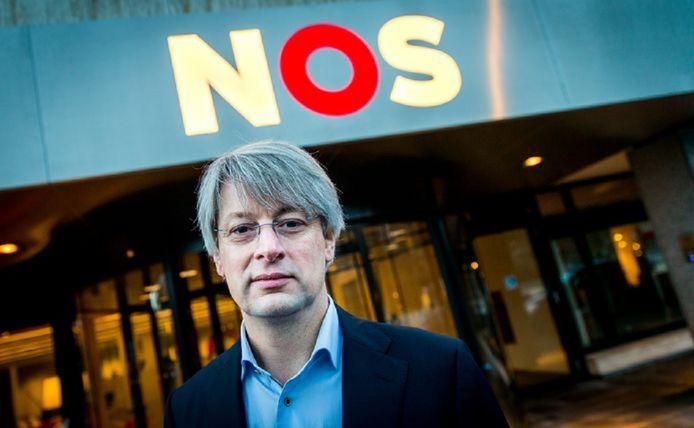 Hoofdredacteur van NOS Nieuws Marcel Gelauff.