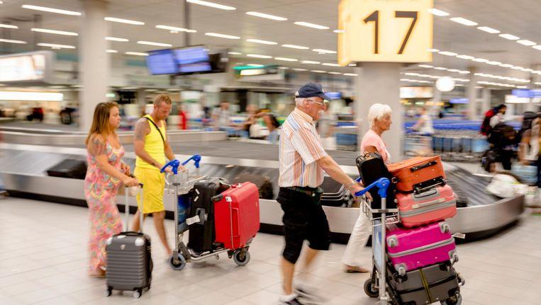 Vorig jaar is Schiphol 13 procent goedkoper geworden voor de luchtvaartmaatschappijen. Beeld anp