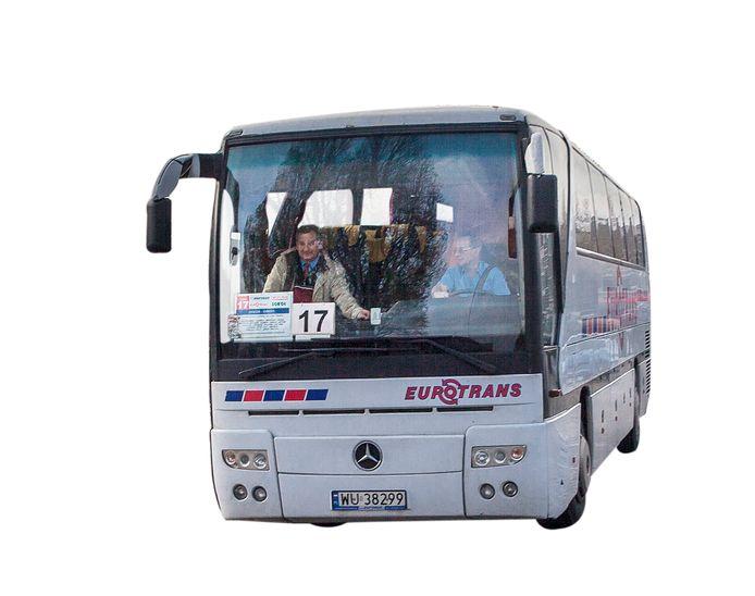 Poolse bus.