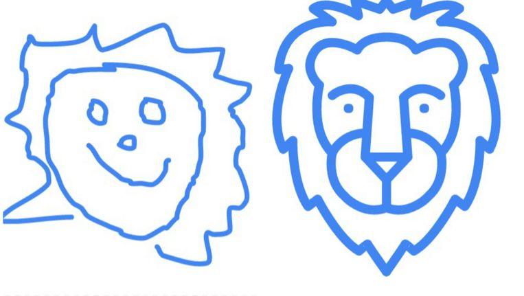 Onze impressie van een leeuw.