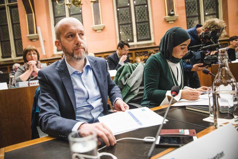 Vlaams parlementslid Tom De Meester (PVDA)