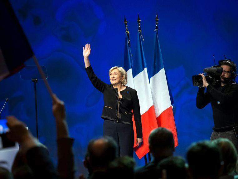 Marine le Pen van Front National. Beeld epa
