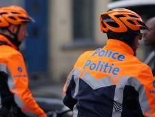 Des policiers à vélo percutés par un scooter à Bruxelles