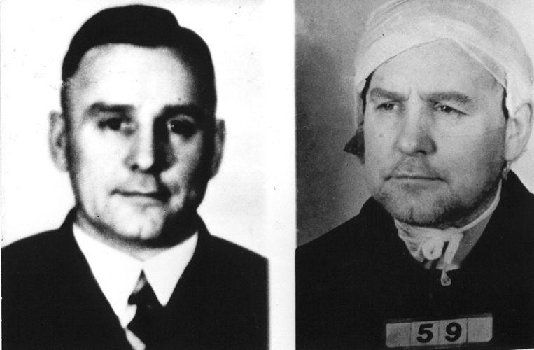 'In 1989 werden uiteindelijk Franz Fischer en Ferdinand aus der Fünten vrijgelaten; een beslissing die nog steeds omstreden is.' Beeld ANP