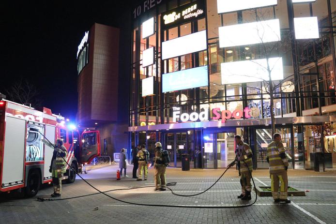 In The Food Spot brak vannacht brand uit