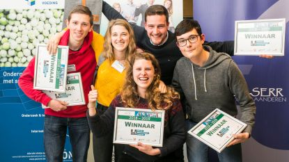 Studenten winnen Food at Work Innovation Bootcamp met innovatieve app