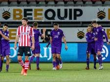 Sparta bijt zich stuk op stuntploeg FC Groningen