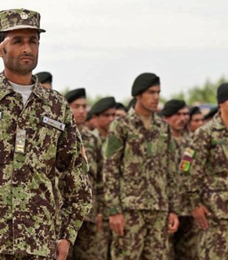 Amerikanen blunderen met 'fout' Afghaans legeruniform