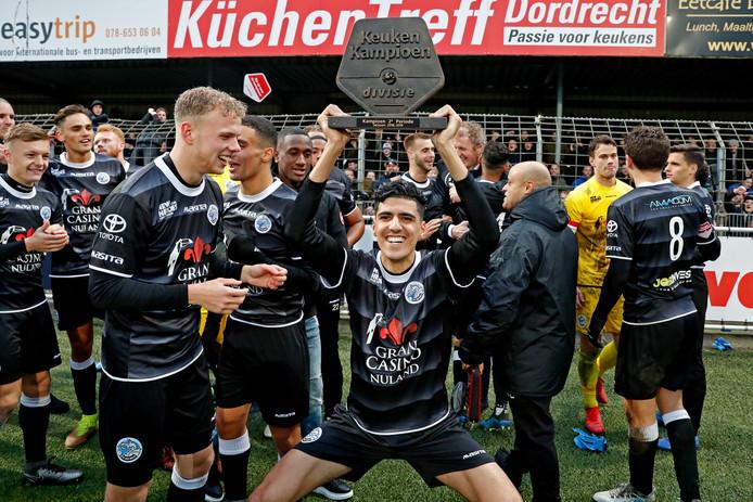 Afgelopen seizoen won FC Den Bosch de titel in de tweede periode.