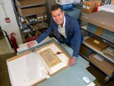Spectaculaire vondst over landgoed Staverden bij Ermelo lag waarschijnlijk al jaren in Elburgs archief